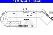 Câble de frein à main MAZDA 323 ASTINA IV (BG) 323 C IV (BG) 323 C Mk IV (BG) 32