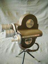 "VINTAGE BELL & HOWELL 70HR 16 MM CAMERA W / ANGENIEUX LENS 3"" F2.5, & 1"" F0.95"