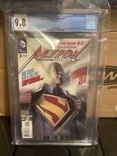 ACTION COMICS #9 DC CGC 9.8 NM (2012) Origin & 1st App. of CALVIN ELLIS Superman