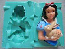 Silicone Mould 3D SNOW WHITE Sugarcraft Cake Decorating Fondant / fimo mold