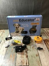 "E-Collar Mini Educator ET-300 Remote Off Leash Dog Training 1/2 Mile ""Read"""