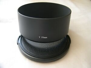 New! Metal Tele 77mm Screw-in Lens Hood Telephoto with Cap