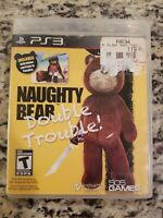 Naughty Bear: Double Trouble -Sony PlayStation 3, Ps3 - Complete FREE S/H