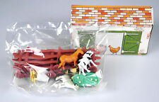 """Spielfiguren-Set Bauernhof """"Farmyard"""", 10-teilig, Tiere, Zäune und Gebäude"""