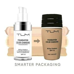 TLM Flawless Face Foundation Colour Changing Foundation For All Skin Type SPF 15