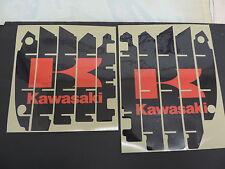 2012 2013 2014 2015 KAWASAKI KXF 450 RADIATOR SHROUD LOUVER DECAL SET