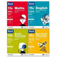 Bond 11+ Maths Assissment Papers Book 2  9-10 Years 4 Books Paperback  Set