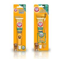 Arm & Hammer Dog Enzymatic Toothpaste Dental Oral Care Tooth Brush Set Health