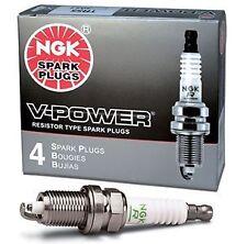 4 New NGK BKR5E-11 Premium V-Power Spark Plugs FREE SHIP