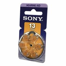 Sony PR13-D6A PR13 Zinc Air Battery Dial Multipack (6 Pack)