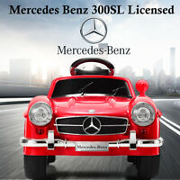 RED MERCEDES BENZ 300SL AMG RC Electric Toy Kids Baby Ride on Car NEW