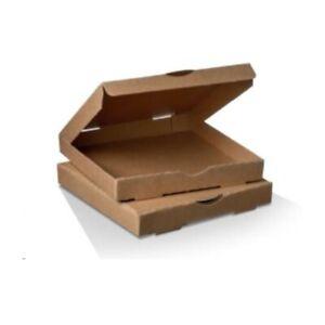 """13"""" Brown Pizza Box  100 pcs"""