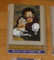 DRAGON BALL Z DBZ HERO COLLECTION PART 3 PLATINA CARD PRISM CARTE PC-30 MINT