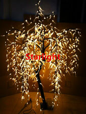 6ft Warm White LED Willow Tree Outdoor Christmas/Garden/Wedding/Home Decor