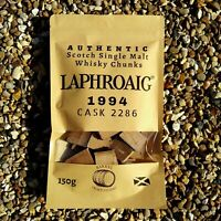 LAPHROIG 1994 Single Malt Whisky Barrel Chunks Home Brew Spirits BBQ Flavour