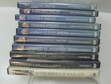 THE MODERN PROPHETS Living Scriptures 7 DVD Set Plus 3 More = 10 DVDs LDS Mormon