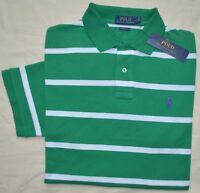 New XL POLO RALPH LAUREN Mens short sleeve polo shirt green top NWT classic fit
