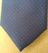 Red Herring Corbata Azul Oscuro Slimline Excelente Estado
