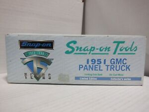 ERTL Collectibles Snap-On Tools Limited Edition 1951 GMC Panel Truck 012221MGL2