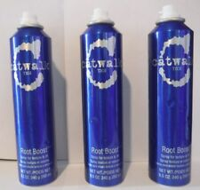 3 Catwalk TIGI  ROOT BOOST Spray for Texture & Lift  8.5 oz Each (573) blue FT