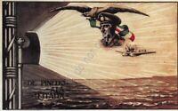 Cartolina illustrata Militare De Pinedo Ala d'Italia