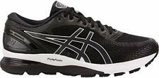 ASICS Men's Gel-Nimbus 21 Running Shoes, Black/Dark Grey, 9 2E(W) US