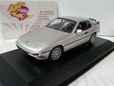 """Minichamps 940062120 # Porsche 924 Baujahr 1984 in """" silber-metallic """" 1:43"""
