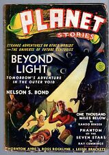GLOSSY UNREAD! Winter 1940 20c PLANET STORIES Mag! Original Illustrated Title!