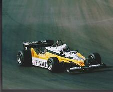 Alain Prost  US GRAND PRIX 1981 Renault 4 TIME WORLD CHAMPION  8 X 10 PHOTO 2