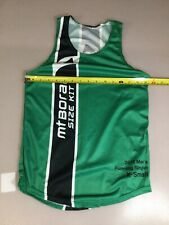 Mt Borah Teamwear Mens Running Singlet Run Shirt Size Xs Xsmall (6910-59)