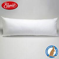 Made In Australia - EASYREST Full Body Pillow 1500g Filled Cotton Cover 48x150cm