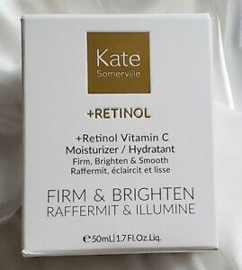 Kate Somerville +Retinol Vitamin C Moisturizer Firm & Brighten 1.7oz / 50ml NIB