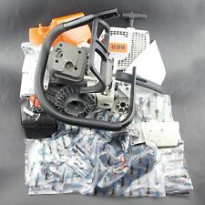 COMPLETE PARTS FOR STIHL 038 MS380 MS381 CHAINSAW CYLINDER COVER CRANKCASE