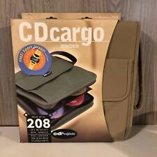 NEW CD Projects Tan Cargo Binder 208 Capacity CD Case