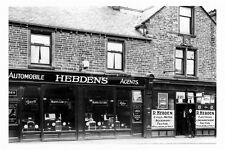 pt5184 - Burnley , Hebdens Motor Agents , Lancashire - photograph 6x4