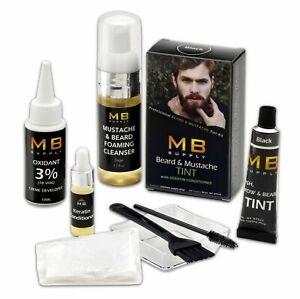 Beard Mustache & Brow TINTING Dye Color KIT With Keratin- Pro Quality USA