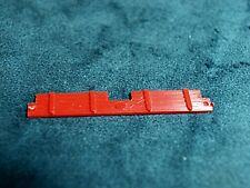 Plasticville Diner Red Side Curtains O-S Scale