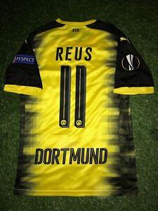 Marco Reus Spielertrikot Europa League 17 18 BVB Dortmund wie Matchworn Trikot