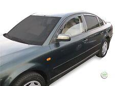 DVW31160 VW Passat B5 4 puerta maletero 1997-2004 viento desviadores 4pc Heko Teñido