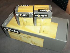 Somfy Soliris IB + 2x Centralis Uno IB für Markisen/Jalousien  Neu und OVP