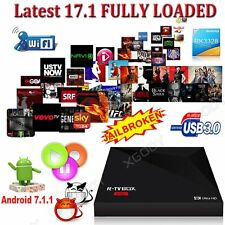 XGODY NEW USB 3.0 Android 7.1.1 Nougat KODI 17.1 Smart Quad Core TV BOX 4K Media