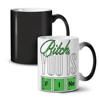Fine Chemistry Geek NEW Colour Changing Tea Coffee Mug 11 oz   Wellcoda