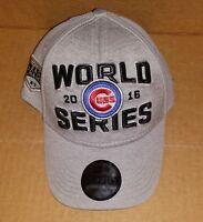 Chicago Cubs Locker Room World Series Youth Flex Hat Cap 2016 NL Champions