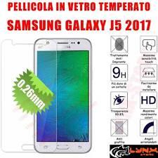 Pellicola vetro temperato per Samsung Galaxy J5 2017 SM-530F Protezione Schermo