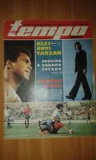 MUHAMMAD ALI - CASSIUS CLAY ON COVER PAGE MAGAZINE TEMPO #520 FROM 1976