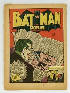 Batman #11 Coverless 0.3 1942