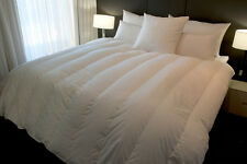 DOUBLE BED SIZE QUILT, 95% HUNGARIAN GOOSE DOWN, WALLED & CHANNEL, 7 BLANKET