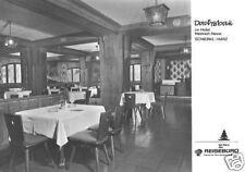 AK, Schierke Harz, Gaststätte Dachsbau, Gastraum, 1972