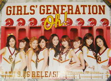 Girls' Generation Oh! 2012 Taiwan Promo Poster (SNSD)