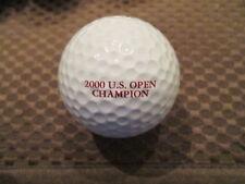 LOGO GOLF BALL-2000 U.S. OPEN CHAMPION...TIGER WOODS...RED TEXT